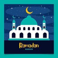 Ramadan Kareem und islamische Kultur vektor