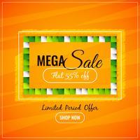 Abstrakter bunter Mega- Verkaufhintergrund