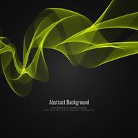 Abstrakt glänsande våg bakgrundsdesign