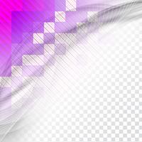 Moderner Wellenhintergrund vektor