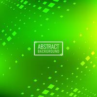 Abstraktes hellgrünes Quadrat blockiert Hintergrund vektor