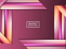 Abstrakter moderner bunter Streifenvektorhintergrund