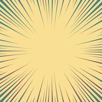 Abstrakte Comic-Linien Hintergrund vektor