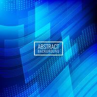 Abstrakter blauer geometrischer Hintergrund vektor