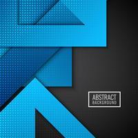 Abstrakt modern geometrisk form bakgrund vektor
