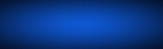 blauer Hintergrund mit sechseckigem Gitterkopf abstrakte Edelstahlfahne modernes kreatives Design Vorlagen bunte Vektorillustration design vektor