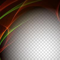 Transparenter Hintergrund der abstrakten stilvollen Welle