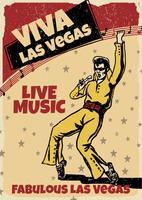 Las Vegas Unterhaltung vektor