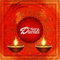 Abstrakter glücklicher Diwali Hintergrund vektor