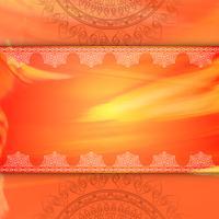 Abstrakt dekorativ lyx mandala bakgrund vektor