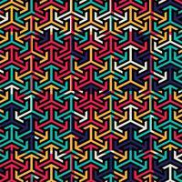 Abstrakter bunter Musterhintergrundvektor vektor