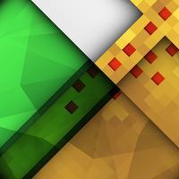 Abstrakt färgstark stilig polygonal bakgrund vektor