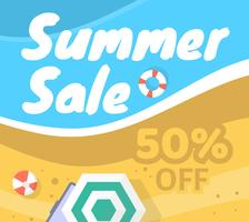 Sommerschlussverkauf vektor