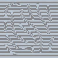 blauer Hintergrund mit beigen Wellenstreifen vektor