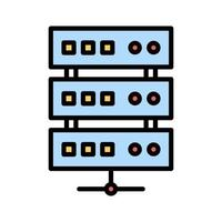 Datenbankspeichersymbol vektor