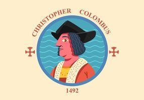 Christopher Columbus vektor