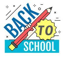 Tillbaka till skolan
