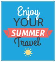 Sommerreise