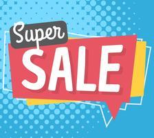 Super Verkauf vektor
