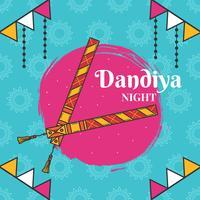 Dandiya haftet Vektor