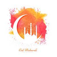 Elegant vacker ramadan kareem kort bakgrunds illustration