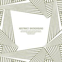 Abstrakte kreative geometrische Linien Hintergrund vektor