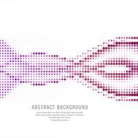 Halbtonhintergrund der abstrakten bunten Welle vektor