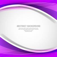 Abstrakter kreativer bunter Wellenhintergrund vektor