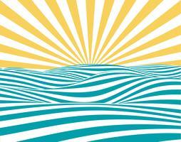 Sommarbakgrund vektor