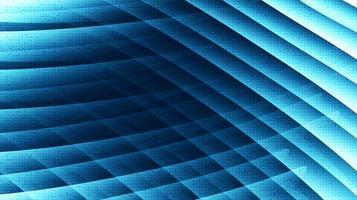 Wellengeschwindigkeitstechnologie auf zukünftigem Hintergrund digital und Verbindungskonzeptdesign concept vektor