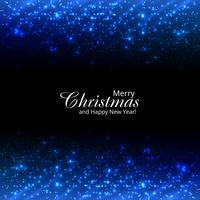 Schöne frohe Weihnachten funkelt und funkelt glänzender Hintergrund vektor