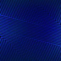 Abstrakte geometrische Linien blauer Hintergrundvektor