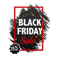Schöner schwarzer Freitag-Verkaufsplakathintergrund vektor