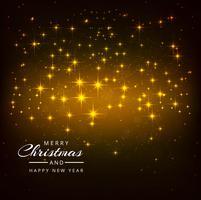 Schöner glänzender Funkeln-frohe Weihnacht-Festival-Hintergrund vektor
