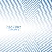 Geometrische Linien Hintergrundvektor der eleganten Form