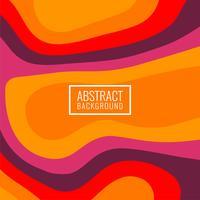Abstrakter bunter stilvoller papercut Hintergrund