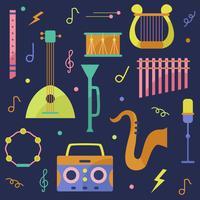 Musikinstrument-Vektor