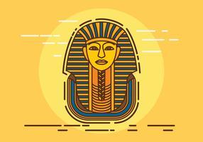 Farao Vektorillustration vektor