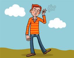 rökning man