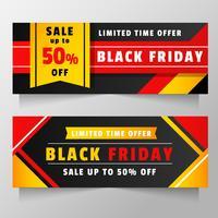 Black Friday Banner Vektor