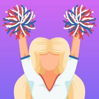 Hervorragende Cheerleader-Vektoren vektor