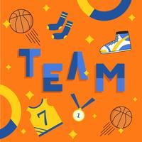 Basketball-Hintergrund