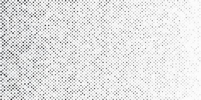 abstrakte schwarze und graue Halbtonpunkte auf weißem Hintergrund und Textur mit Textfreiraum. einfaches Muster-Banner-Design. Vektor-Illustration vektor