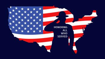 Enastående veteranens dagvektorer