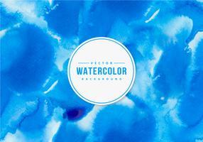 Indigo blå akvarell bakgrund
