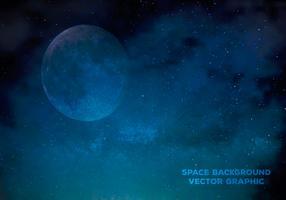Raum-Vektor-Illustration