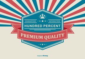 Premium-Werbe-Hintergrund vektor