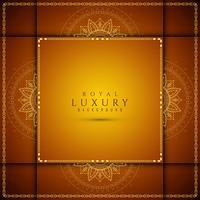 Abstrakter stilvoller Luxushintergrund vektor