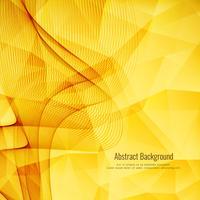 Abstrakt ljus vågig polygonal bakgrund