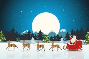 Frohe Weihnachten-Karte